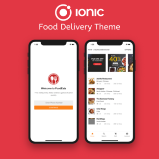 IONIC FOOD DELIVERY